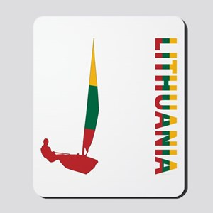 Sailing Lithuania Mousepad