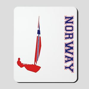 Sailing Norway Mousepad