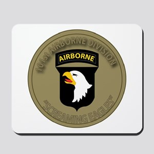 101st Airborne Screaming Eagles Mousepad