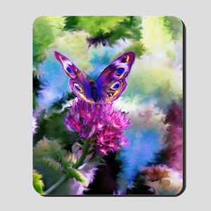 Colorful Abstract Butterfly Mousepad