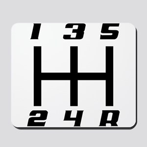 5-speed logo Mousepad