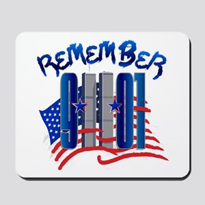 Remember 9/11 - Twin Towers Mousepad