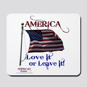 America Love It or Leave it Mousepad