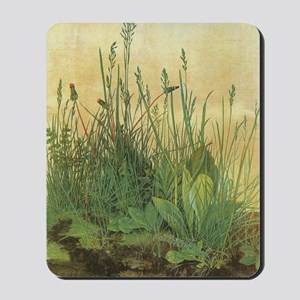 Large Piece of Turf by Albrecht Durer Mousepad