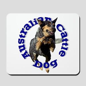 Cattle Dog House Mousepad