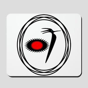 Native American RoadRunner design Mousepad