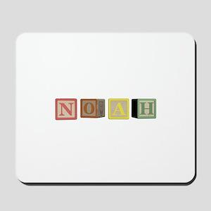 Noah Alphabet Block Mousepad
