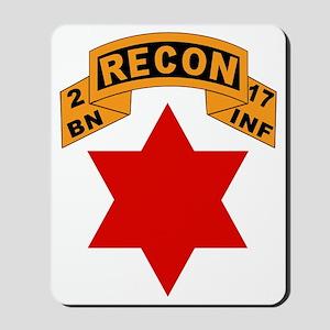 2-17 Recon Shirt Mousepad