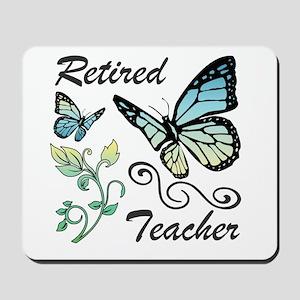 Retired Teacher Mousepad