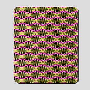 Funky Tribal Bubblegum Mousepad