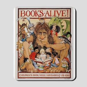 1980 Children's Book Week Mousepad