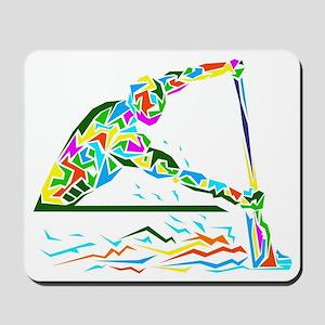 man is rowing  Mousepad