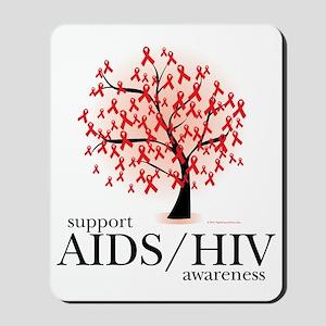 AIDSHIV-Tree Mousepad