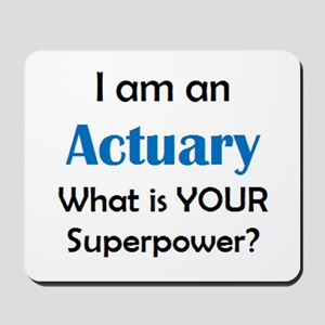 actuary Mousepad