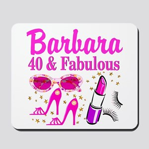 40TH PARTY GIRL Mousepad