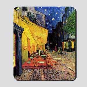 Van Gogh, Cafe Terrace at Night Mousepad