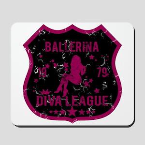 Ballerina Diva League Mousepad