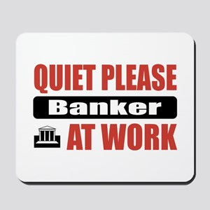 Banker Work Mousepad