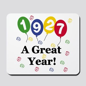 1927 A Great Year Mousepad