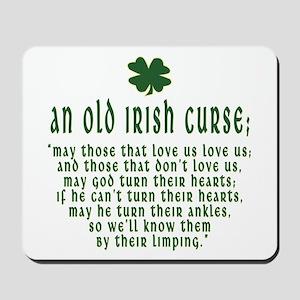 An Old irish curse Mousepad
