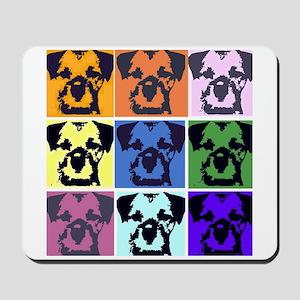 Border Terrier Pop Art Mousepad