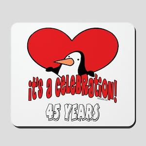 45th Celebration Mousepad
