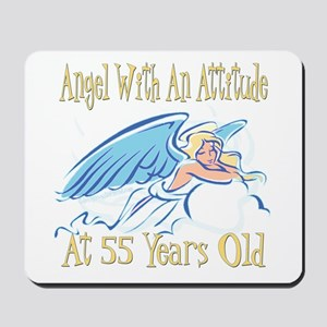 Angel Attitude 55th Mousepad