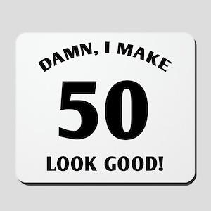 50 Yr Old Gag Gift Mousepad