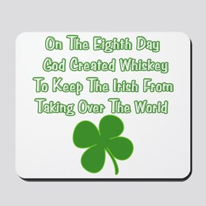 Irish Whiskey Mousepad
