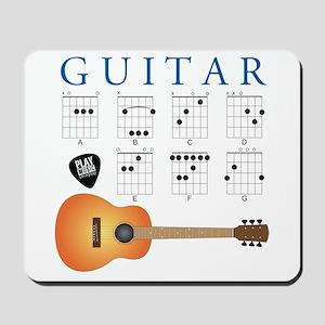 Guitar 7 Chords Mousepad
