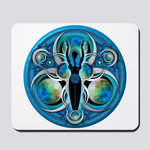 Goddess of the Blue Moon Mousepad