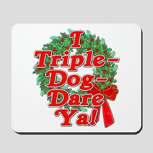 Triple Dog Dare A Christmas Story Mousepad
