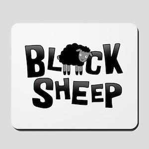 Black Sheep Dark Mousepad
