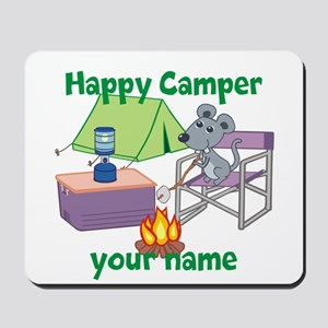 Custom Happy Camper Mouse Mousepad
