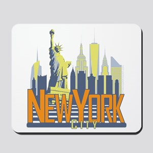 NYC Skyline Bold Mousepad