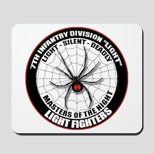 7th Infantry Div (L) Mousepad