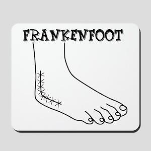 Frankenfoot Mousepad
