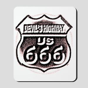 Devils HWY CafePress  Mousepad