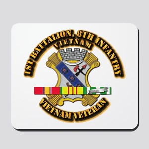 1st Battalion, 6th Infantry Mousepad