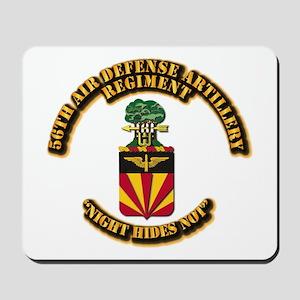 COA - 56th Air Defense Artillery Regiment Mousepad