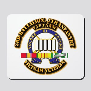 3rd Battalion, 7th Infantry Mousepad