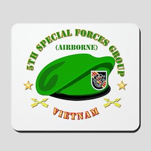 SOF - 5th SFG Beret - Vietnam. Mousepad