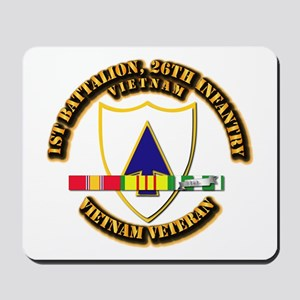 Army - 1st Battalion, 26th Infantry w SVC Ribbons