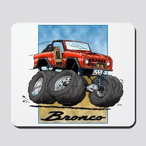 Red Early Bronco Mousepad
