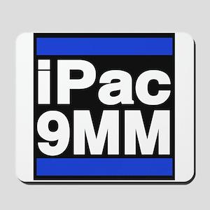 ipac 9mm blue Mousepad