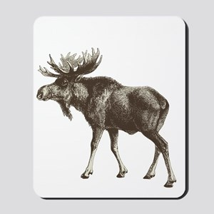 Moose-is-Loose-whtie Mousepad
