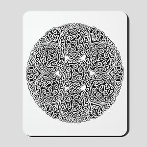Knotwork Circle Celtic Mousepad
