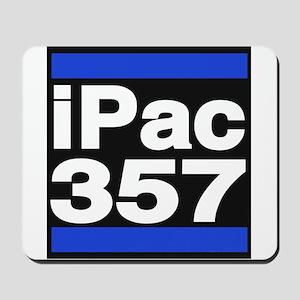 ipac 357 blue Mousepad