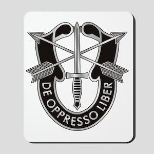 Special Forces Crest Mousepad