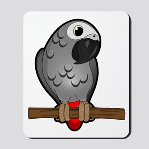 African Grey Mousepad